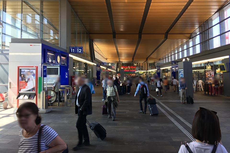 Basel中央駅