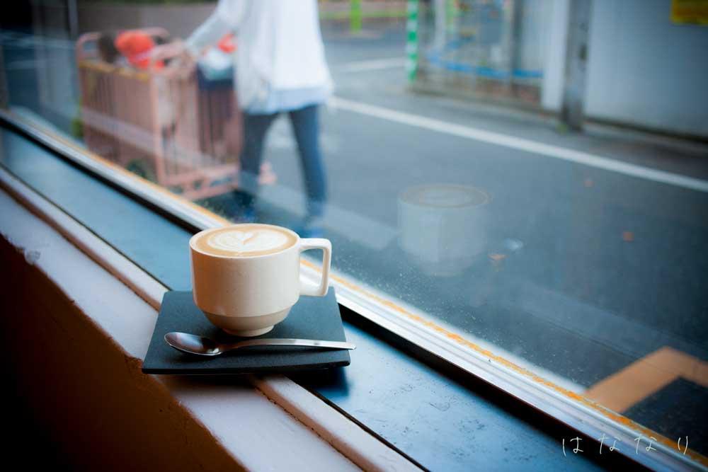 Coffee Wrightsのカプチーノ